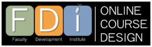 Faculty Development Institute for Online Course Design